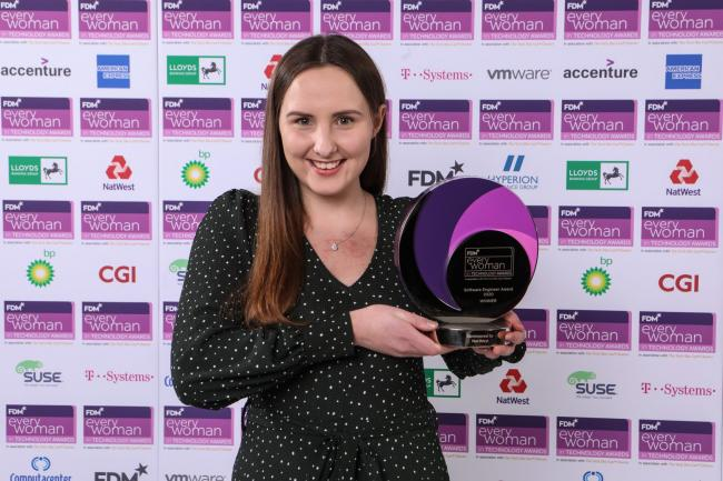 Adele Churchill emerged from the FDM everywoman in Technology Awards as a winner
