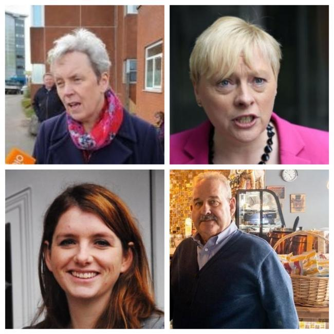 Wirral MPs Margaret Greenwood, Alison McGovern, Angela Eagle and Mick Whitley