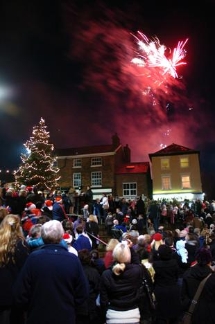 Christmas comes to Middlewich