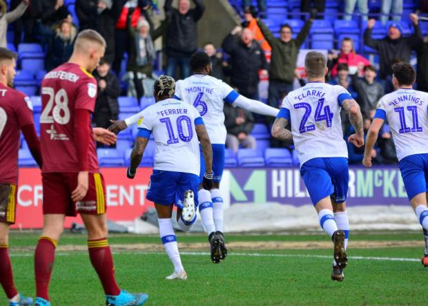 Wirral Globe: Tranmere Rovers players will defer part of the wages over the next three months. Photo: Tony Coombes