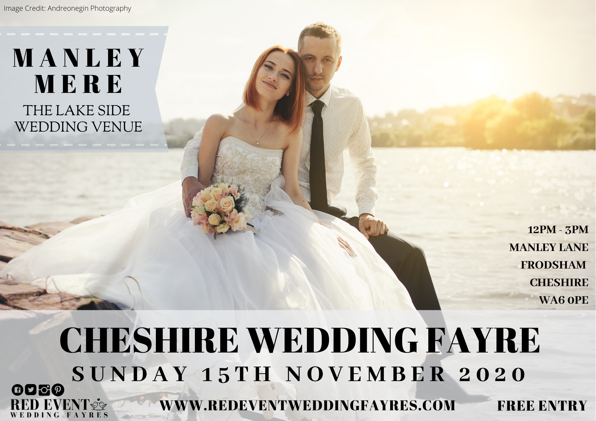 Cheshire's Boho Wedding Fayre at Manley Mere