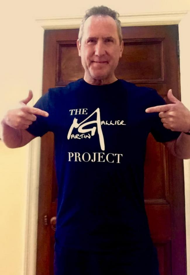 Andy McCluskey of OMD has joined the Martin Gallier Project