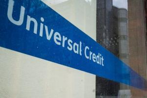Universal Credit sign