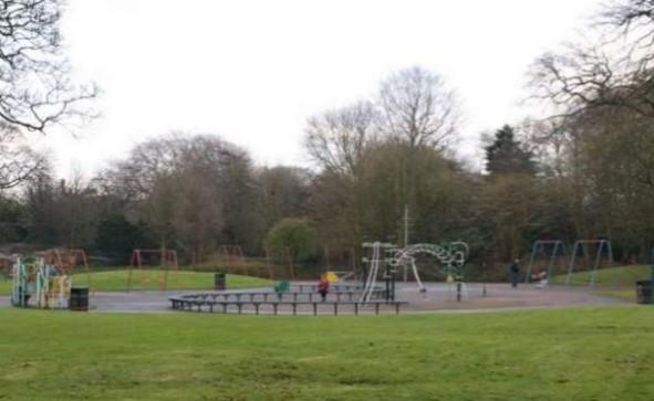 Play Area In Birkenhead Park