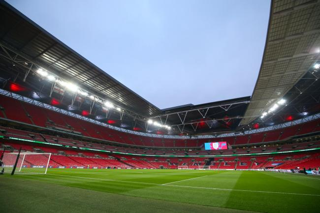 England are set to host Wales at an empty Wembley Stadium in October. (Steven Paston/PA)