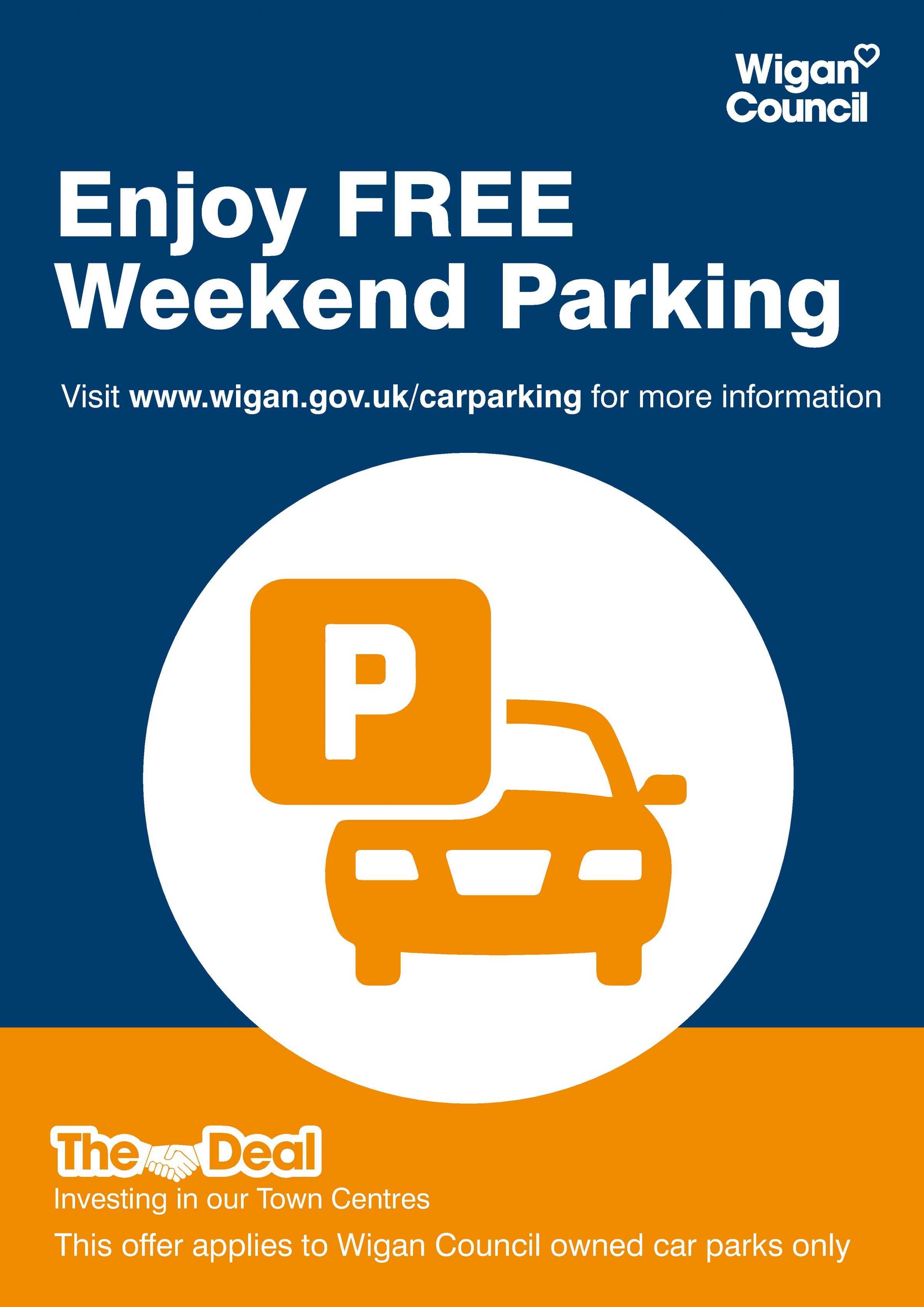 FREE weekend Parking at Spinning Gate Shopping Centre