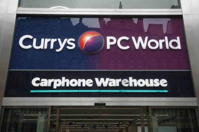 Currys PC World owner Dixons Carphone