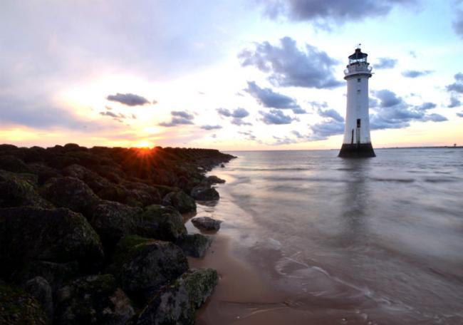 New Brighton coastline. Picture courtesy of Wirral Council