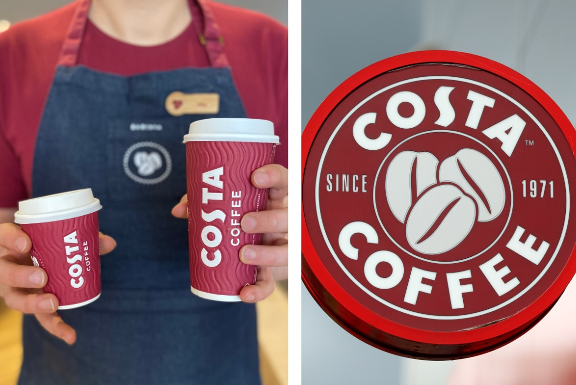 Costa have unveiled their new Christmas cups and they're the