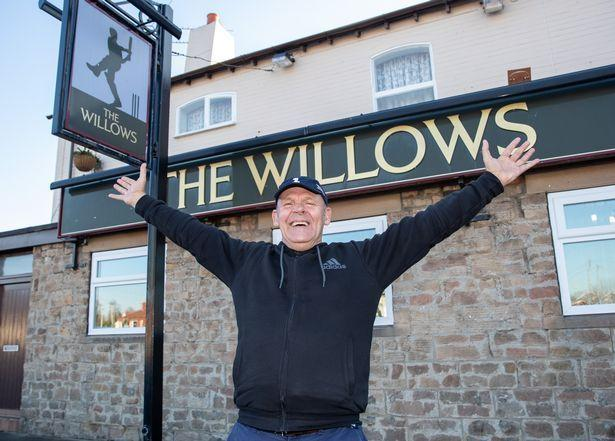Ray Parker of The Willows Pub