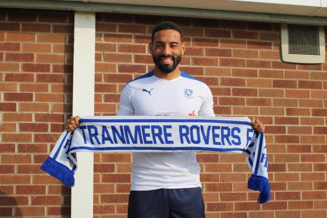 Liam Feeney will be playing his football at Prenton Park this season