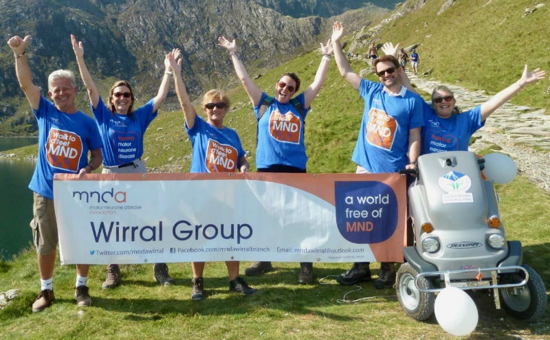 Team Hardy back to Snowdonia for motor neurone disease charity