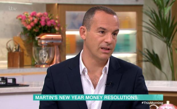 Wirral Globe: Martin Lewis speaking on ITV's This Morning