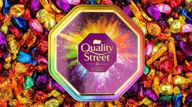 Quality Street: Fans of the sweet treats can now order personalised tins. Picture: Nestlé