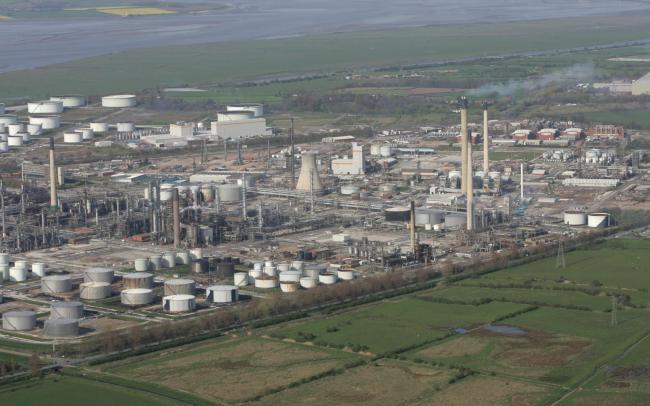 Hoyer tanker drivers in Ellesmere Port are based at Stanlow oil refinery.