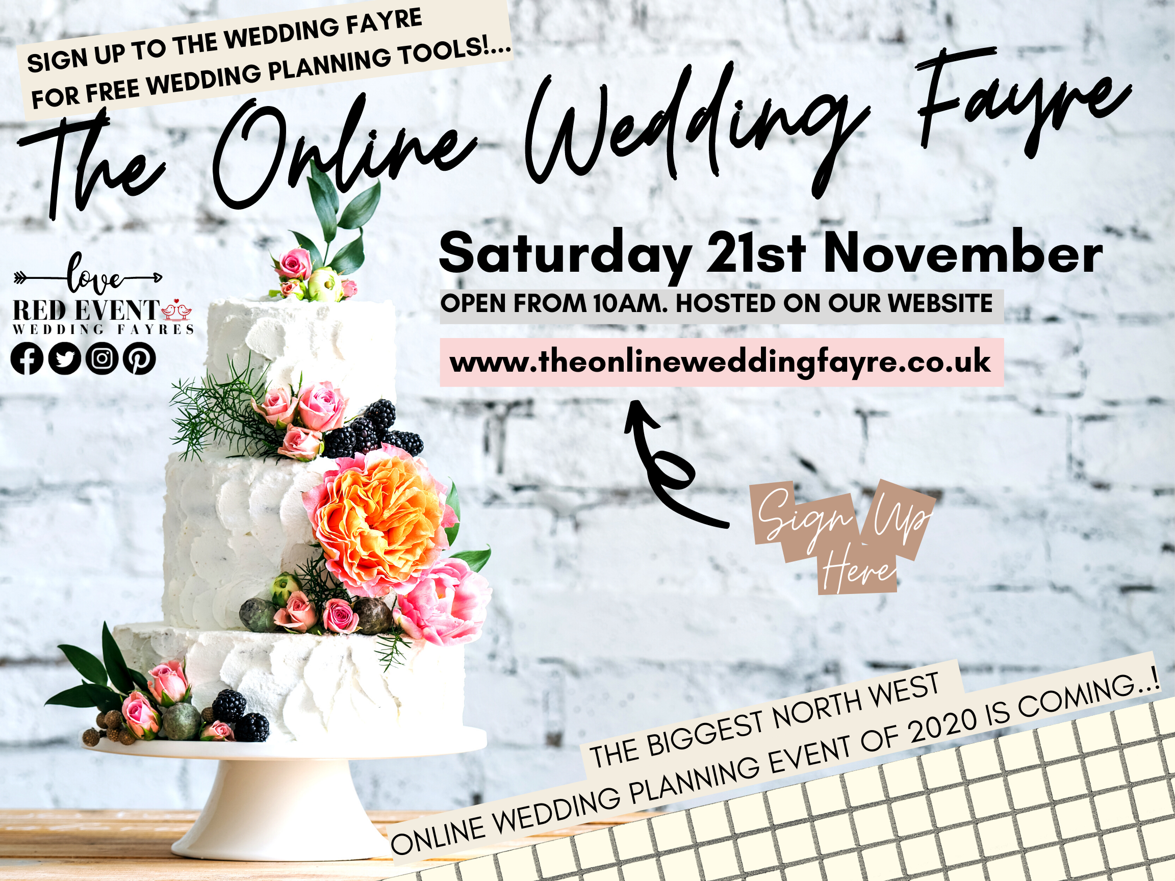 The Online Virtual Wedding Fayre - North West UK