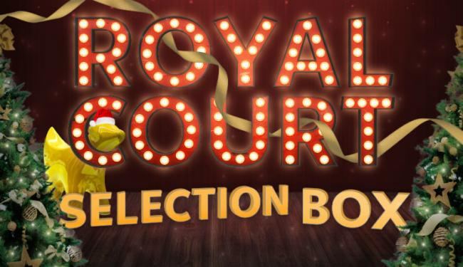 Poster for Royal Court Selection Box show
