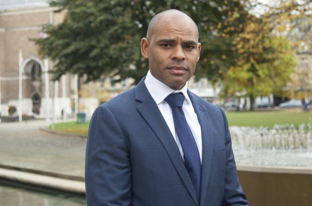Wirral Globe: Spence sent the 'offensive' emails to Bristol Mayor Marvin Rees. Photo: PA