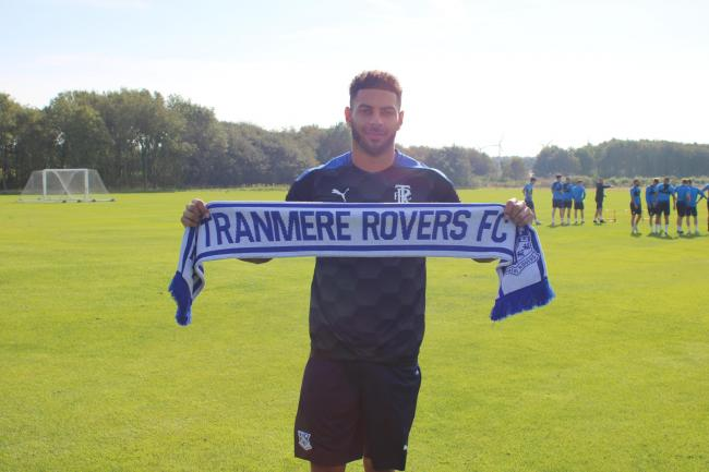 Kaiyne Woolery signed for Tranmere in September 2020 and his contract has now been extended until the end of the season. Photo: Tony Coombes