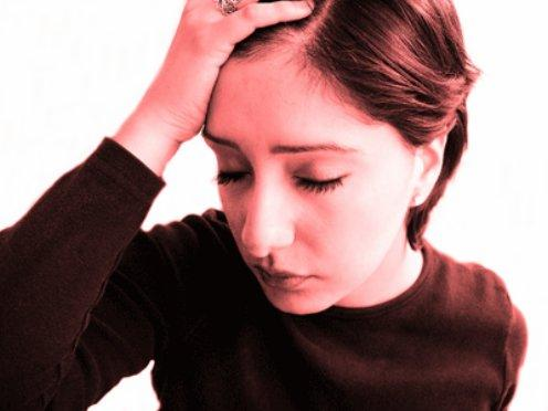 Stressed and depressed: Mental health problems are the number one reason for sick leave at Wirral Council   - library picture