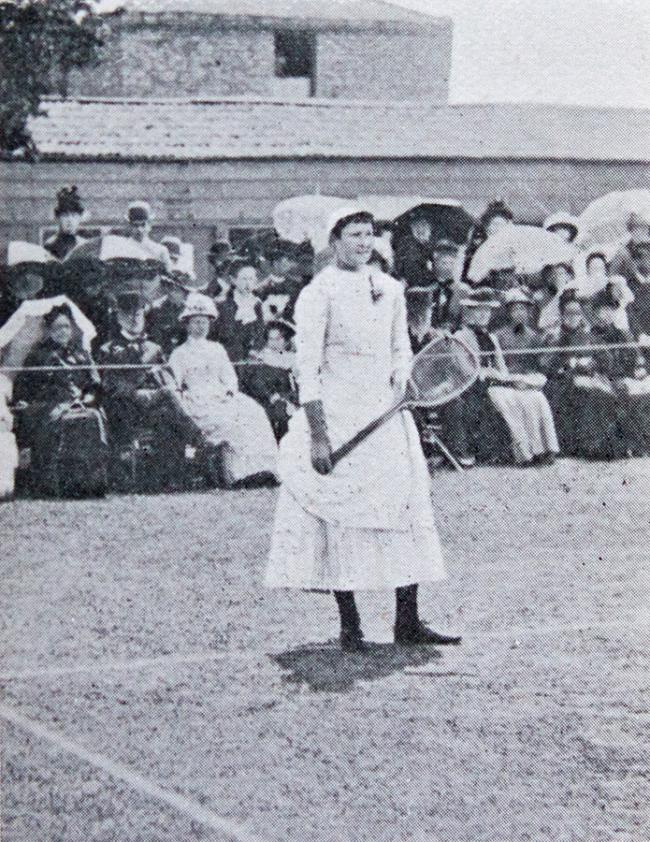Lottie Dod (1871 – 1960) was best known as a tennis player though she excelled in many other sports, including golf, hockey and archery.
