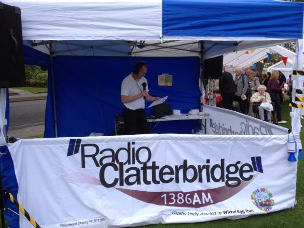 Wirral Globe: All set and ready to go live at the 2013 Port Sunlight Festival
