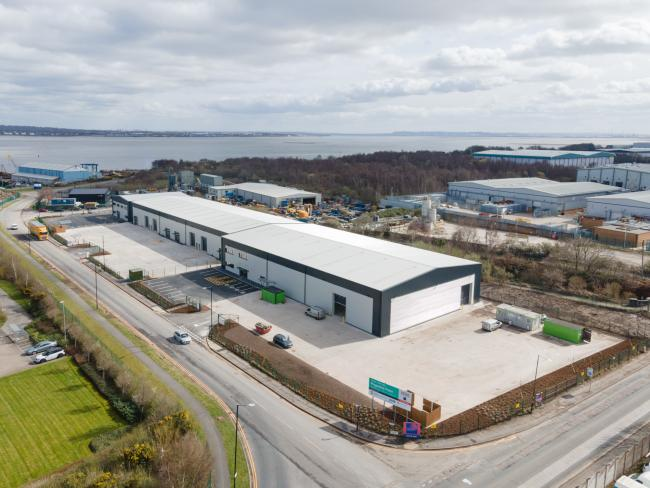 Magazine Point development on Wirral International Business Park