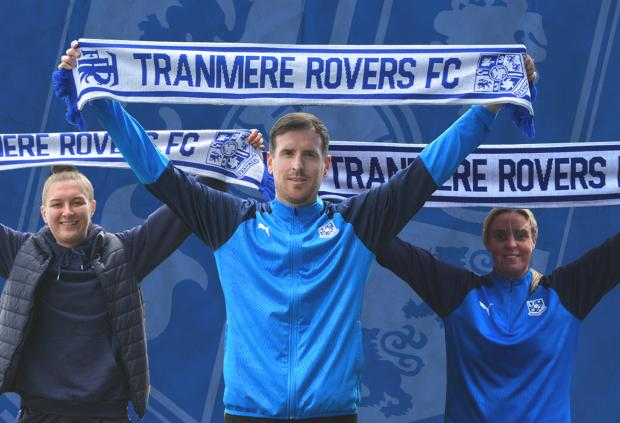 Wirral Globe: Marc Joyce will be joined by Lynn Carter and Ellis Dalgliesh on Tranmere's coaching staff