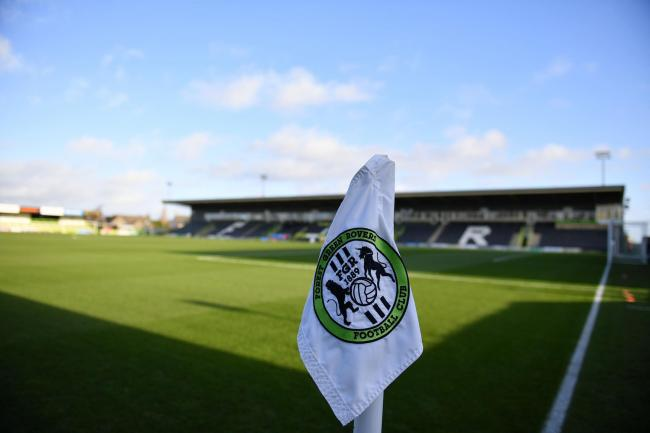The Football Association are investigating an allegation of homophobic abuse made by Forest Green after their League Two match with Tranmere. Photo: Simon Galloway/PA