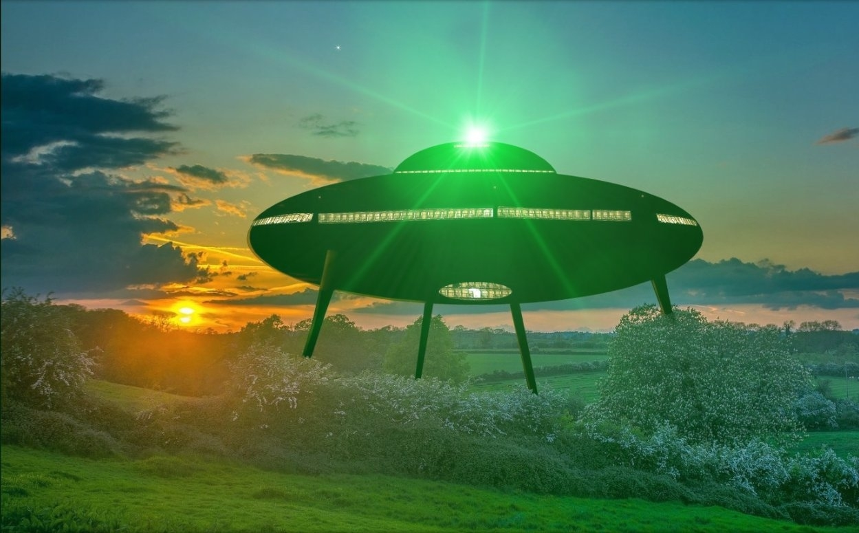 HAUNTED WIRRAL: The Brimstage UFO
