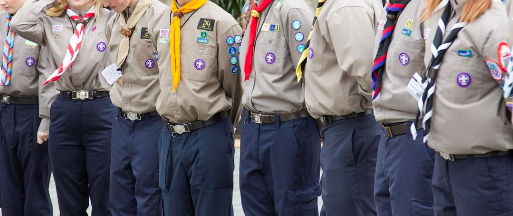 North West scouts take part in annual scavenger hunt