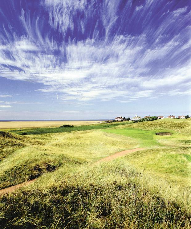 Wirral Globe: The 13th hole at the Royal Liverpool Golf Course