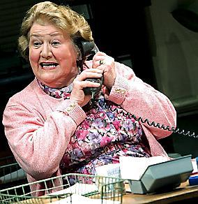 Wirral Globe: NATIONAL TREASURE: Patricia Routledge in Alan Bennet's play Office Suite