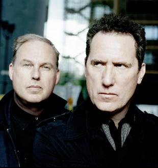 Wirral Globe: OMD: Paul Humphreys and Andy McCluskey