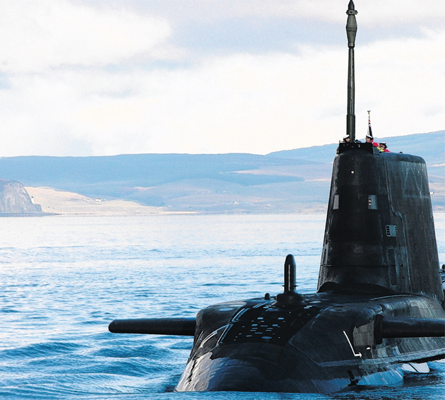 Capenhurst on MoD list for storing radioactive waste from nuclear-powered submarines