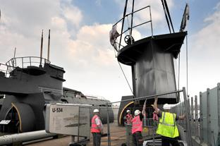 U-Boat Conning Tower is added onto Wirral tourist attraction