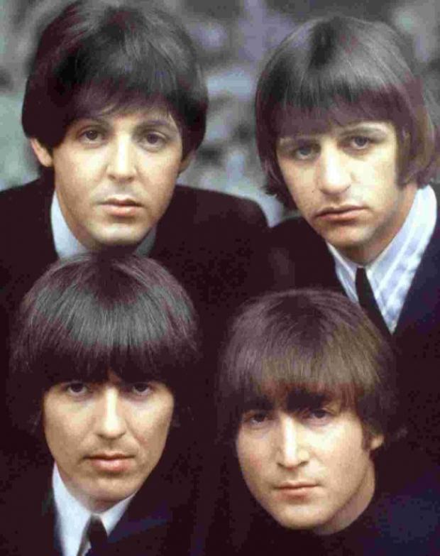 The Fab Four in their Sixites heyday