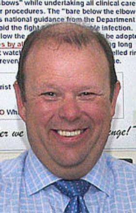 Wirral hospital chief executive, Len Richards
