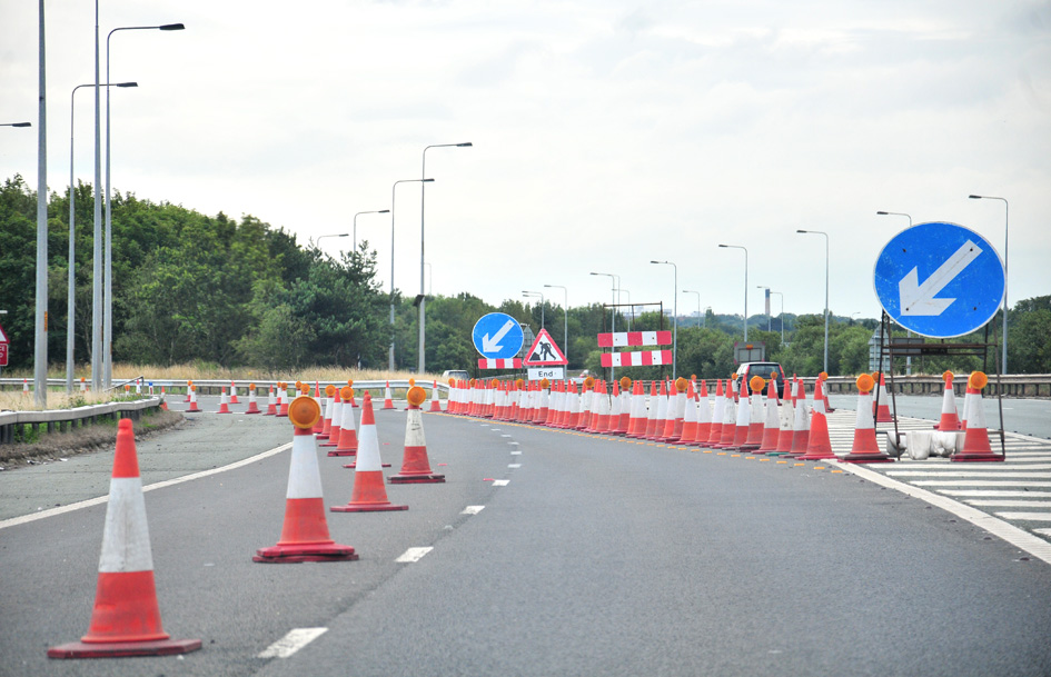 Major roadworks  get underway on M53 as part of £520,000 'wear and tear' project