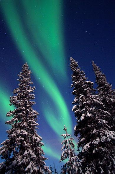 See the Northern Lights in Finland this winter