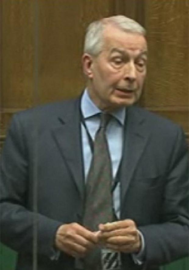 Frank Field launches move to bring Syrian regime to trial