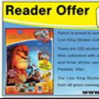 A Lion King sticker starter pack for every reader!