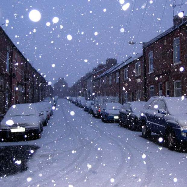 Wirral Globe: I'm punting on a white Christmas