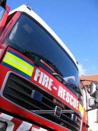 Dogwalker rescued by firefighters from mud in New Brighton