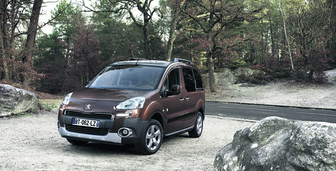 Peugeot Partner Tepee S e-HDi 92: Loads of space
