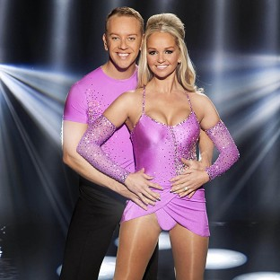 Jennifer Ellison has been voted out of Dancing on Ice