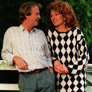 Dennis Waterman has admitted he hit Rula Lenska during their marriage