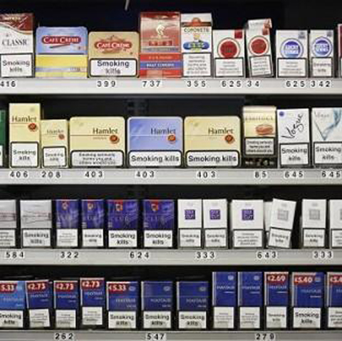 UKIP MEP slams plans to sell cigarettes in plain packs