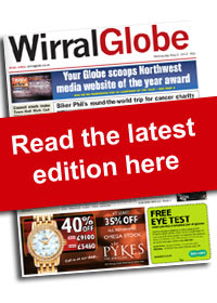 Wirral Globe: Globe eedition paper