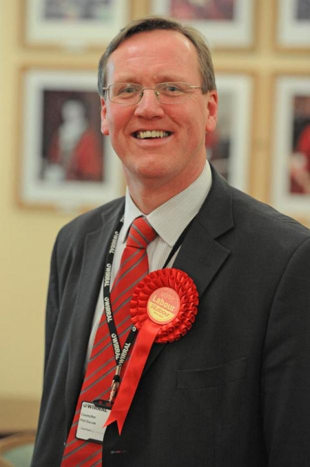 Council leader Phil Davies